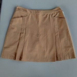Tail Shorts - 🆕 Women's Tail Dramatic Skort Tan Studded Size 10